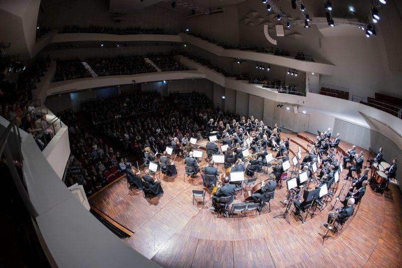 Liepojos simfoninis orkestras. Janio Vecbralio nuotr.