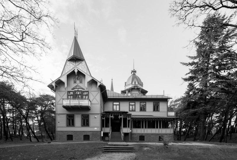 """Vila ANAPILIS. Iš knygos """"Palanga. Architektūros gidas"""". Norbert Tukaj nuotr."""