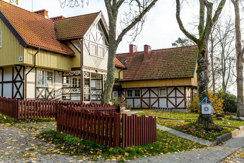 Tarptautinis vertėjų ir rašytojų centras Nidoje. Organizatorių archyvo nuotr.