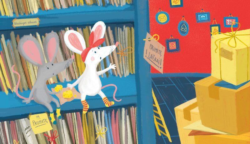 Gretos Alice iliustracija