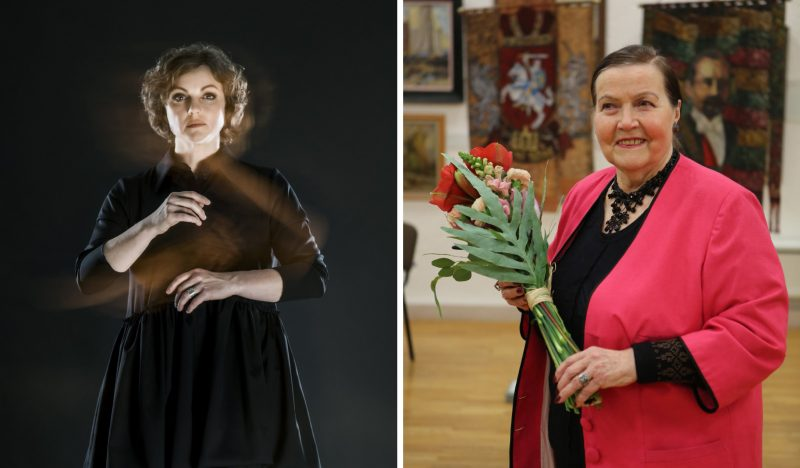 2021 metų Klaipėdos kultūros magistrės (iš kairės): Agnija Šeiko ir Sofija Kanaverskytė. Dmitrijaus Matvejevo ir Egidijaus Jankausko nuotr.