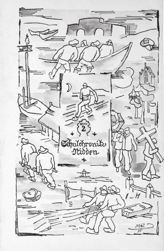 """""""Nidos mokyklos kronika"""". Organizatorių archyvo nuotr."""