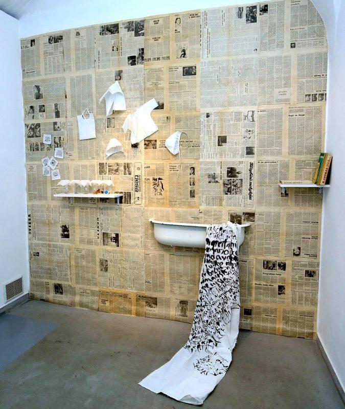 Zita Inčirauskienė. Prisiminimų kambarys. Instaliacijos fragmentas. Vyto Nomado nuotr.