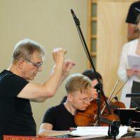 Pastatymo muzikos vadovas Trevoras Pinnockas. Rimanto Navicko nuotr.