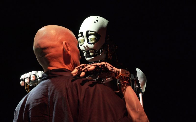 """Materia Magica 2021"": ""Meinhardt & Krauss"" kinematografinio teatro (Vokietija) spektaklis ""Eliza: keista meilė"". Michael Krauss nuotr."