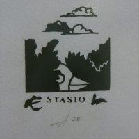 A. Kliševičius. Stasio ekslibrisas. 1983. R. Davidavičienės kolekcija