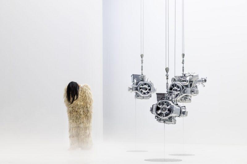 "Spektaklis ""Flesh"", Franck Vigroux (Prancūzija). Quentin Chevrier nuotr."