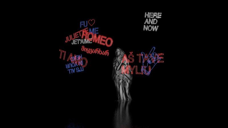 """Jekaterinos Zlajos sukurta šokio spektaklio """"Romeo ir Džuljeta"""" scenografija. Asmeninio albumo nuotr."""