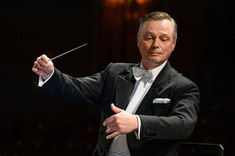 Dirigentas Martynas Staškus. Martyno Aleksos nuotr.