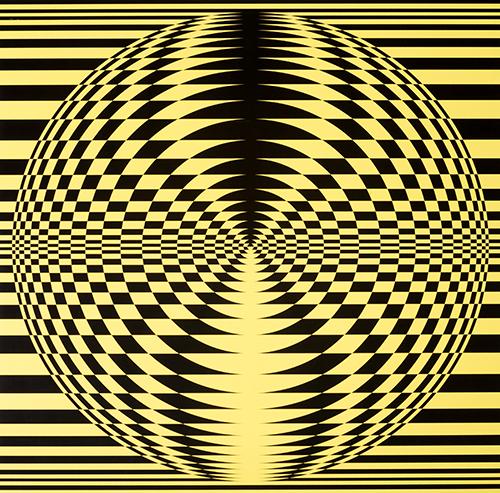 Roland Helmer. Tarp juodos – nuo geltonos iki violetinės. 2000 m.