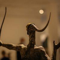 Edmundas Frėjus. Amazonė (fragmentas). Kalta geležis, 117x60 cm, 2004 m. Manto Bartaševičiaus nuotr.