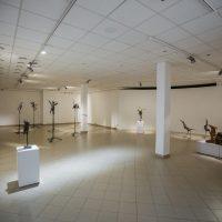 """Edmundo Frėjaus parodos """"Sugrįžtantys paukščiai"""" ekspozicijos fragmentas. Manto Bartaševičiaus nuotr."""