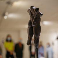 Edmundas Frėjus. Moters figūra. Kalta geležis, h 64 cm, 2000 m. Manto Bartaševičiaus nuotr.