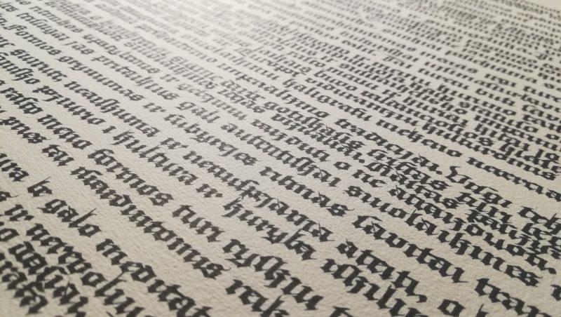 Lino Spurgos kaligrafija
