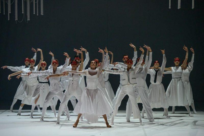 """Sergejaus Prokofjevo baletas """"Romeo ir Džuljeta"""". Martyno Aleksos nuotr."""