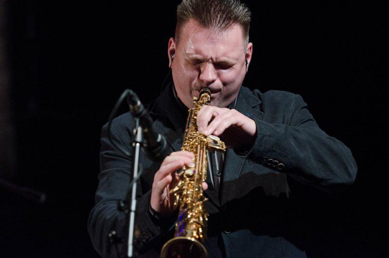 Saksofonininkas Janas Maksimovičius. Daivos Klovienės nuotr.